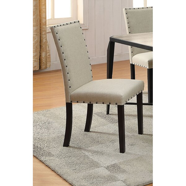 Robitaille Upholstered Dining Chair (Set of 2) by Alcott Hill Alcott Hill