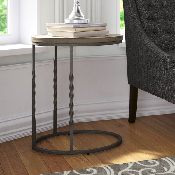 Zilla Cantilever End Table By Gracie Oaks