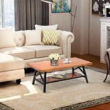Flickinger Coffee Table by Union Rustic