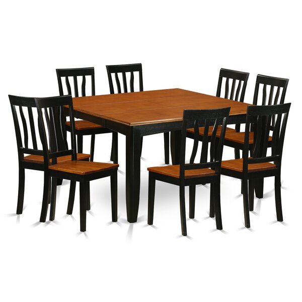#2 Parfait 9 Piece Dining Set By Wooden Importers Savings