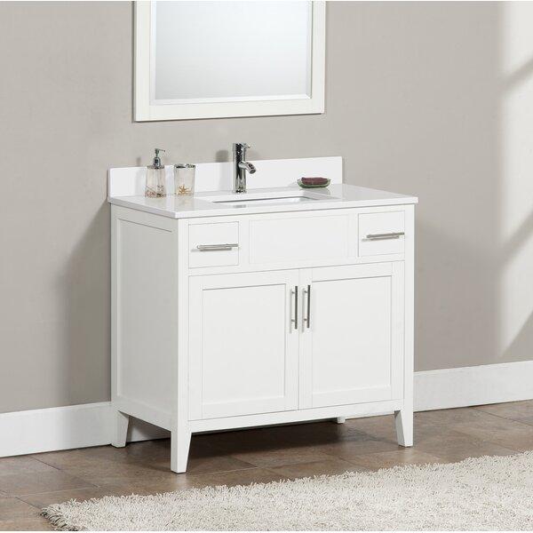 Check price 93 long bedelia 37 single bathroom vanity - Reasonably priced bathroom vanities ...
