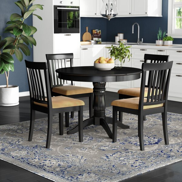 Oneill 5 Piece Upholstered Dining Set by Andover Mills