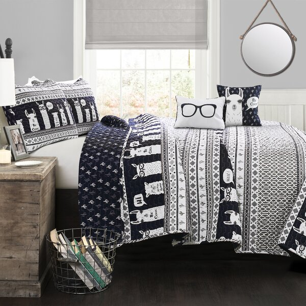 Minneota Reversible Quilt Set by Latitude Run