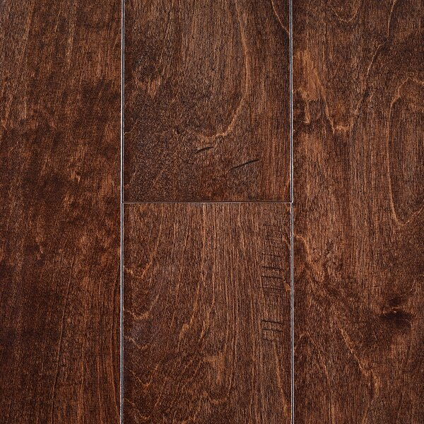 Edinburgh 5 Birch Hardwood Flooring in Brown by Branton Flooring Collection