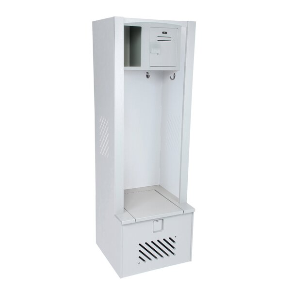 1 Tier 1 Wide Gym Locker by Lenox Plastic Lockers