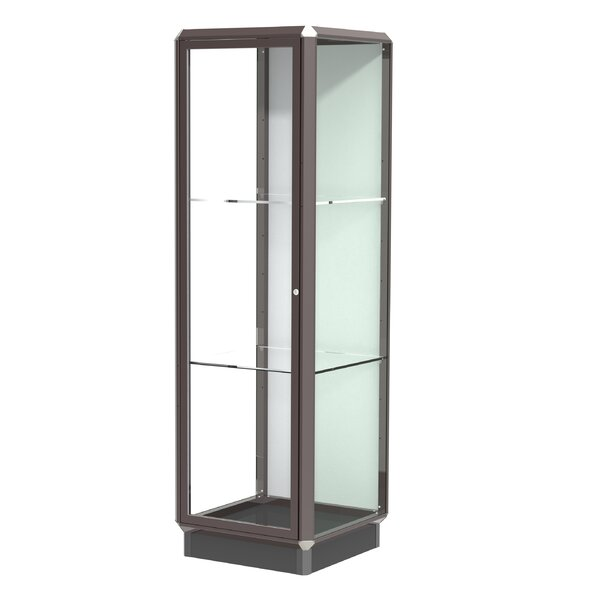 Prominence Series Floor Display Case by Waddell