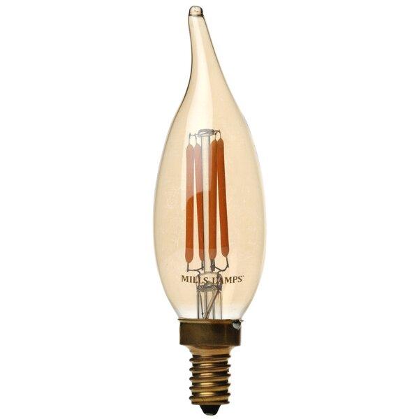 40W E12 LED Vintage Filament Light Bulb by Edison Mills