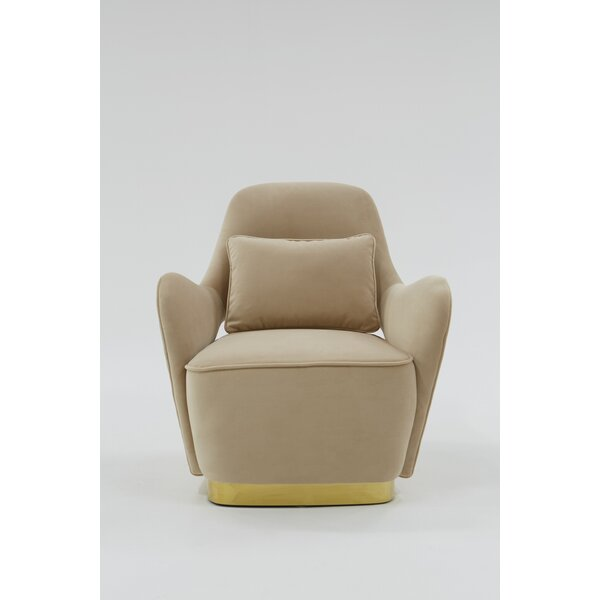 Portal Lounge Chair by Everly Quinn