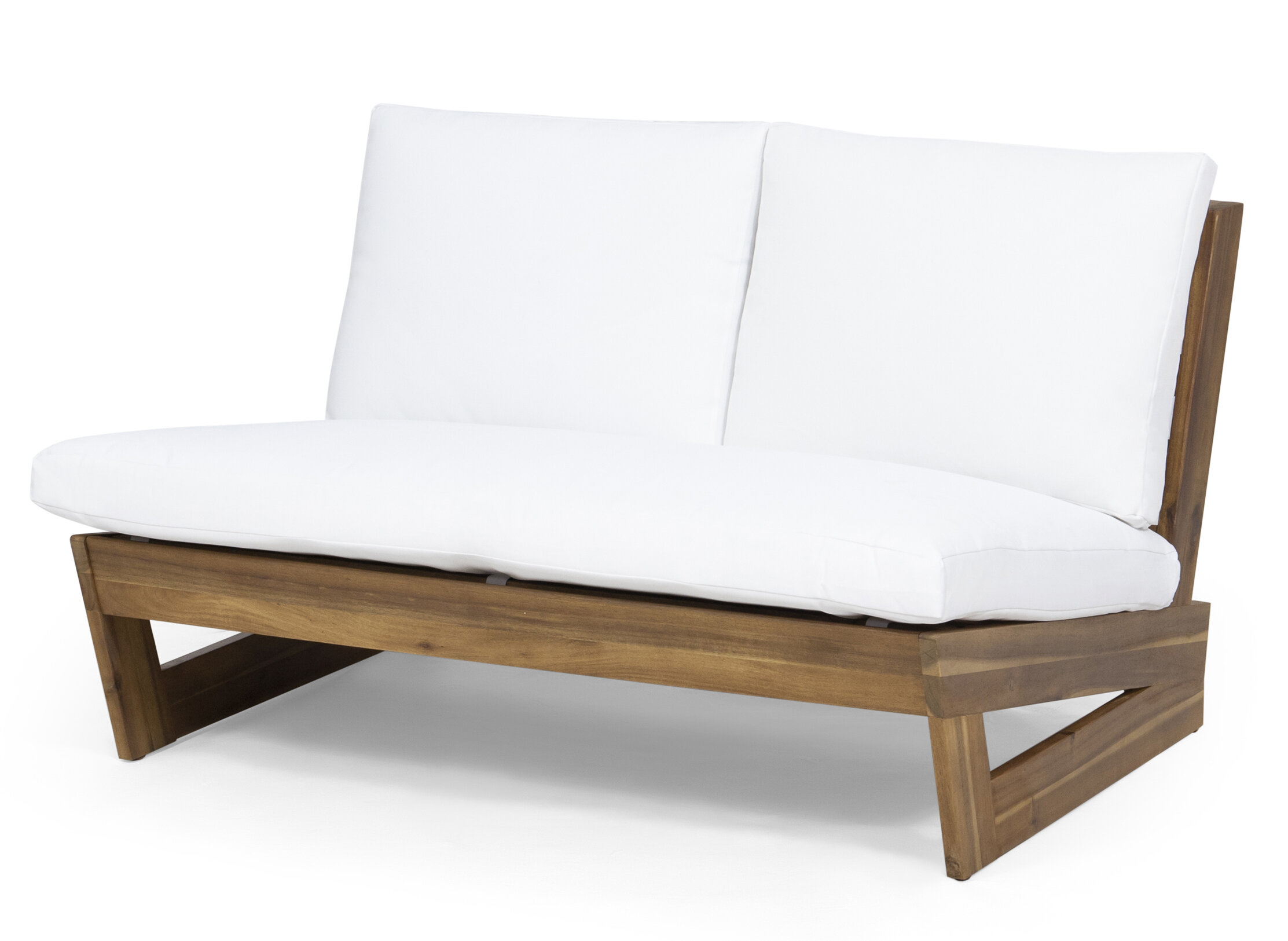 Fabulous Pekalongan Outdoor Loveseat With Cushions Ncnpc Chair Design For Home Ncnpcorg