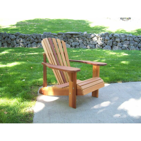 T&L Solid Wood Adirondack Chair by Wood Country