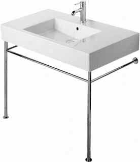 Vero Ceramic 34 Console Bathroom Sink with Overflow by Duravit