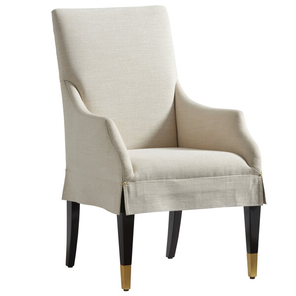 Carlyle Upholstered Arm Chair by Lexington Lexington