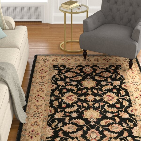Cranmore Black Area Rug by Charlton Home