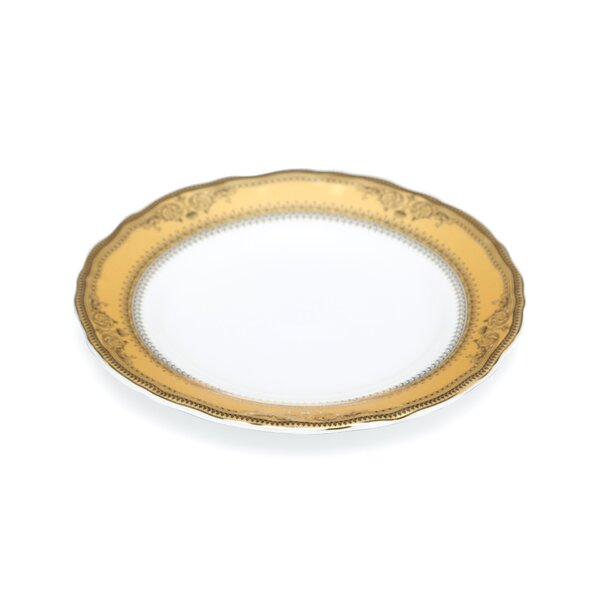 Vanessa Gold 6 Bread and Butter Plate (Set of 6) by Ten Strawberry Street
