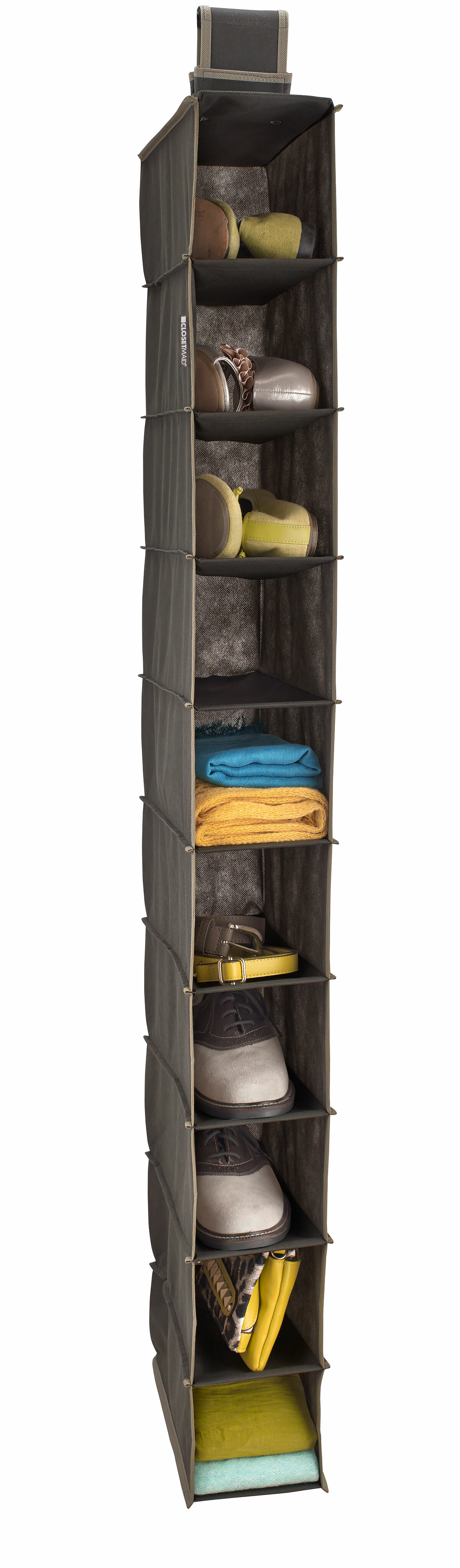 ClosetMaid 10 Shelf Closet Hanging Organizer U0026 Reviews | Wayfair