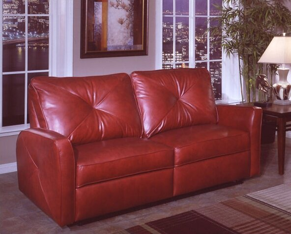 Bahama Leather Reclining Sofa & Omnia Leather Bahama Leather Reclining Sofa u0026 Reviews | Wayfair islam-shia.org