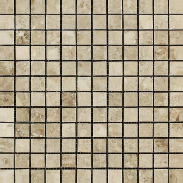 1 x 1 Marble Grid Mosaic Wall & Floor Tile