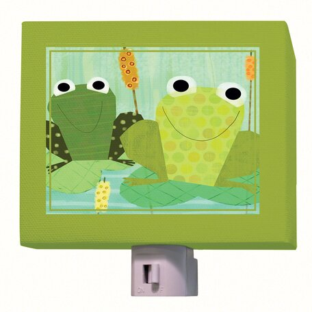 Friendly Frogs Night Light by Oopsy Daisy