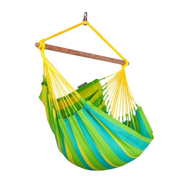 SONRISA Weatherproof Basic Olefin Chair Hammock by LA SIESTA