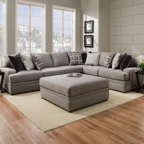 Mervin Briar Simmons Upholstery Sectional by Latit