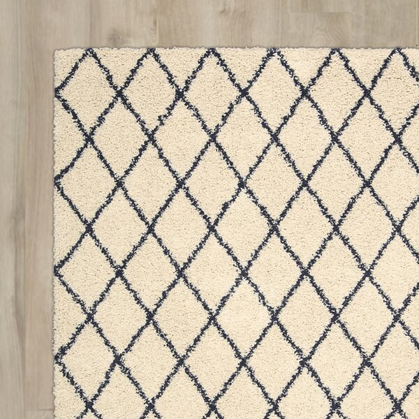 Neptune Ivory Area Rug by Mercury Row
