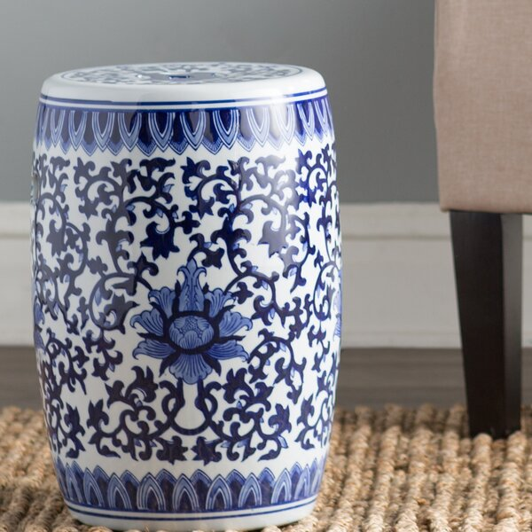 Belknap Ceramic Garden Stool by Astoria Grand Astoria Grand