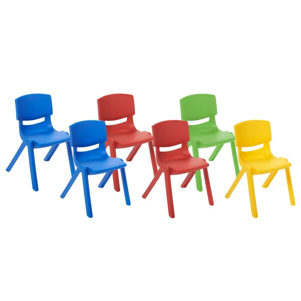 Plastic Classroom Chair (Set of 6) by ECR4kids