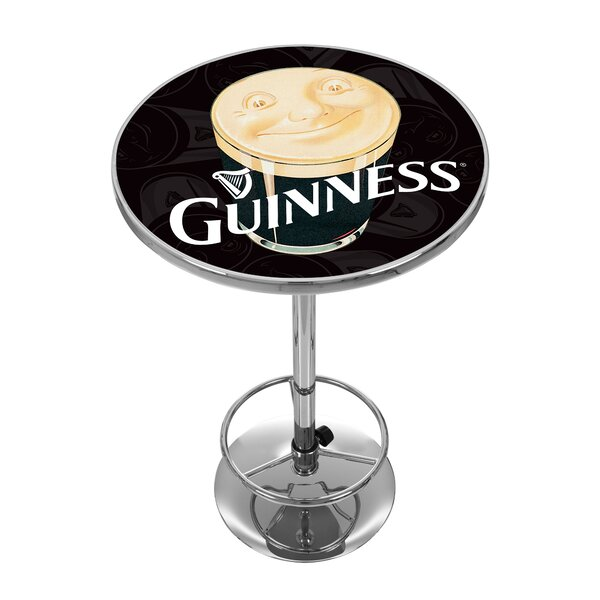 Guinness Smiling Pint Pub Table by Trademark Global