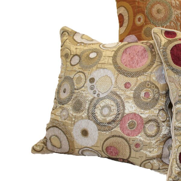 Chenille Candy Decorative Throw Pillow by Violet Linen