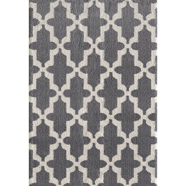 Lowes Gray Area Rug by Winston Porter
