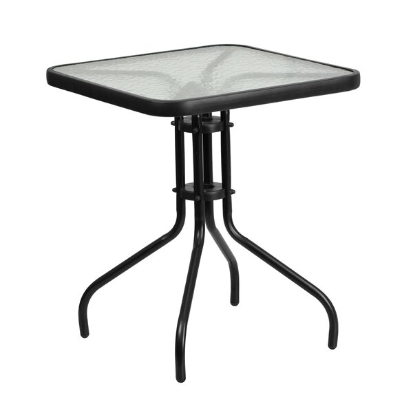 Melmore Glass Dining Table by Charlton Home Charlton Home