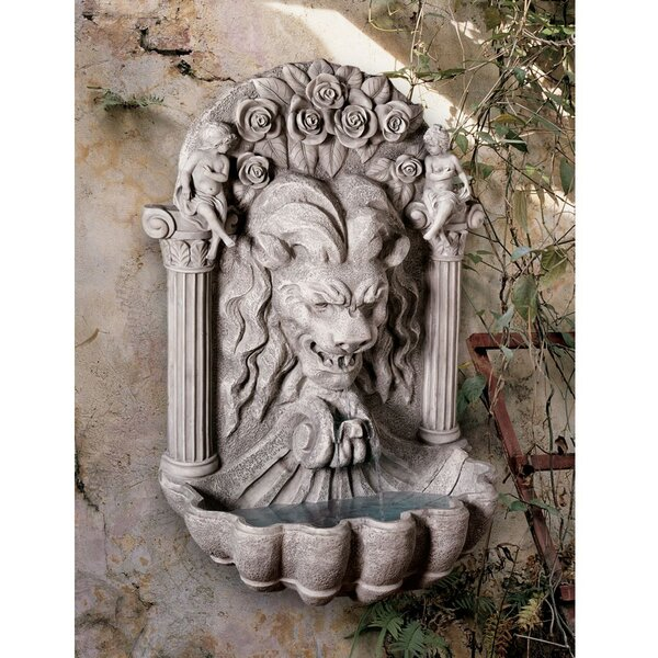 Resin Lion Sculptural Fountain by Wildon Home ®