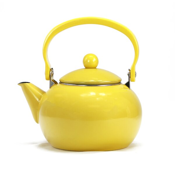 Calypso Basic 2 Qt. Harvest Tea Kettle by Reston Lloyd
