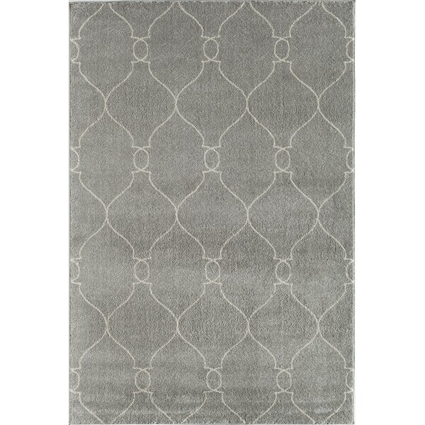 Hudson Jepson Platinum Hand Woven Gray Area Rug by Rugs America