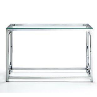 Tameka Glass Console Table