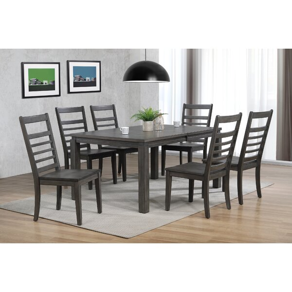 Morin 7 Piece Dining Set by Canora Grey