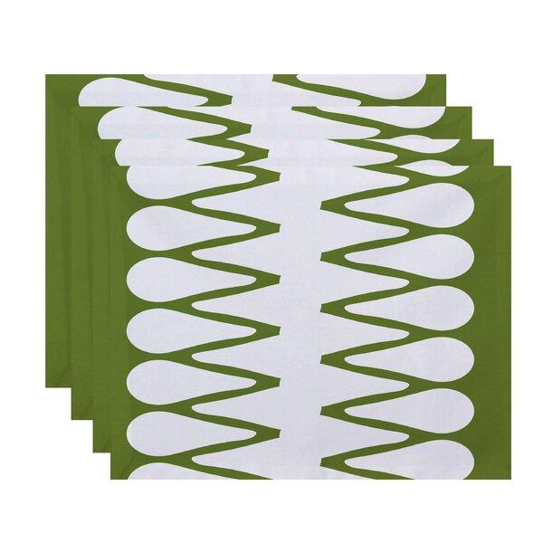 Doretta Zipped Placemat (Set of 4) by Latitude Run