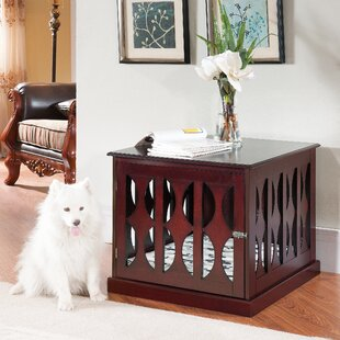 claudia pet crate - Dog Crate Side Tables