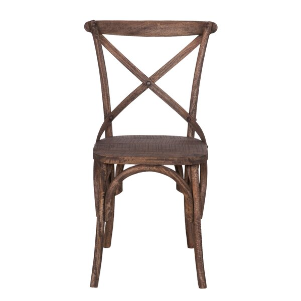 #2 Moree Solid Wood Dining Chair By August Grove Spacial Price