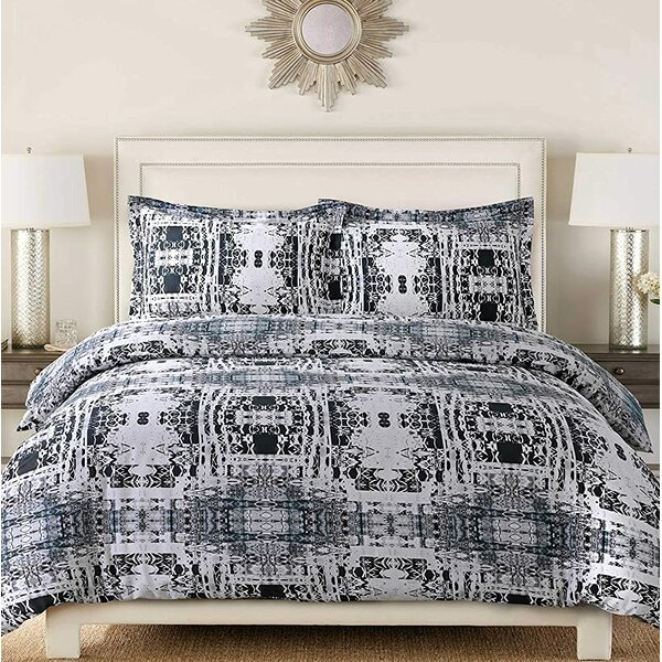 Anyiah Reversible Duvet Cover Set
