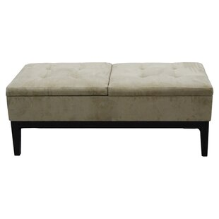 Read Reviews Upholstered Storage Bench ByORE Furniture