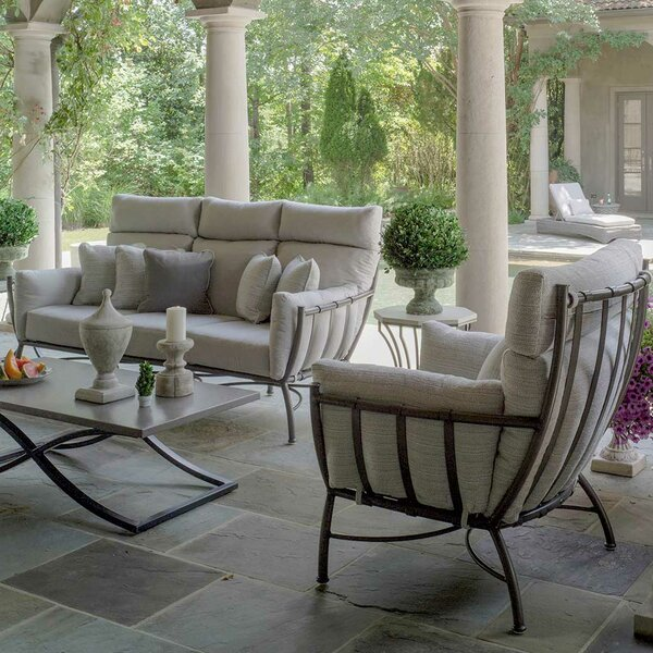 Majorca Deep Seating Group with Cushion by Summer Classics