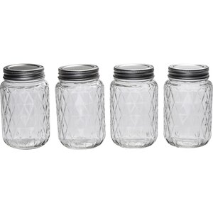 Treasure 4 Canning Jar set (Set of 4)