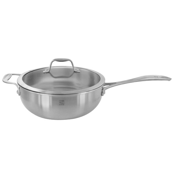 Spirit 10 Stainless Steel Wok with Lid by Zwilling JA Henckels