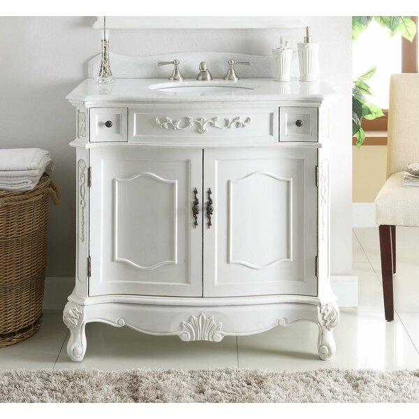 Gaskins 36 Single Bathroom Vanity Set by House of Hampton