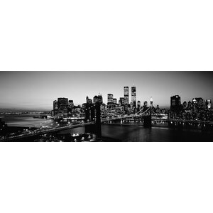 USA, New York City Wall Art on Wrapped Canvas by Latitude Run