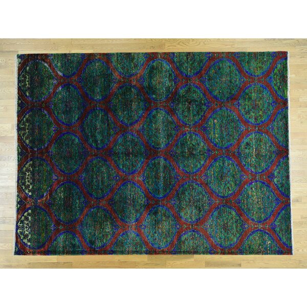 One-of-a-Kind Beatrix Moughal Design Handwoven Silk Area Rug by Isabelline