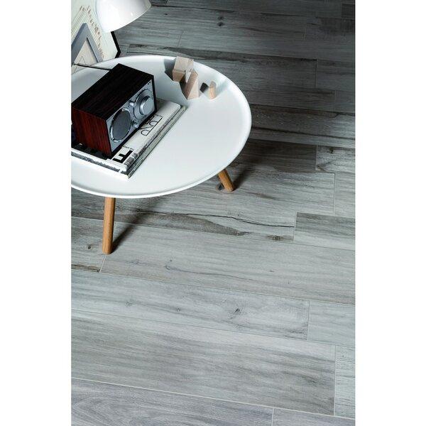 Solorez 8 x 32 Porcelain Wood Look Tile in Grigio by Splashback Tile