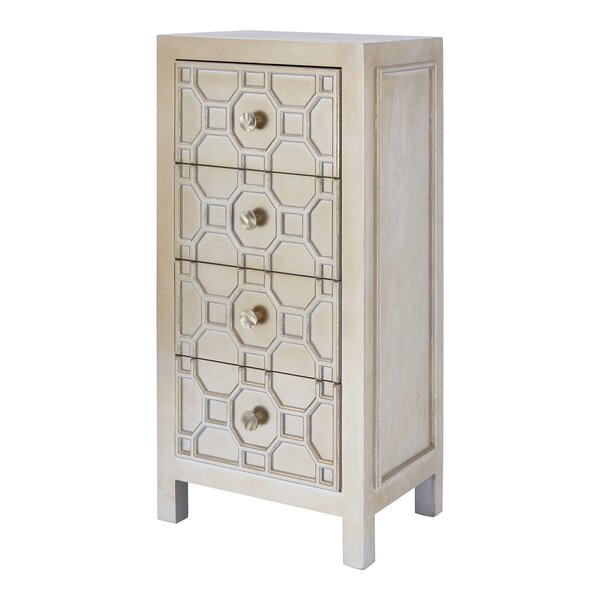 Riemer 4 Drawer Chest by Bloomsbury Market Bloomsbury Market
