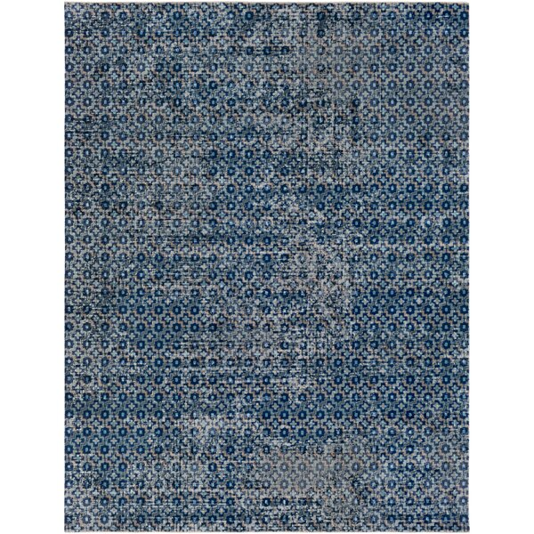Arabi Gray/Blue Area Rug by Bungalow Rose